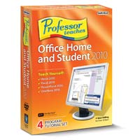 Individual Software Professor Teaches Office Home and Student 2010 (PC)