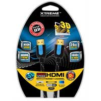 Xtreme Cables Braided HDMI Cable 12 ft