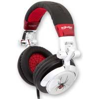 ifrogz Ear Pollution DJ Silver Spider