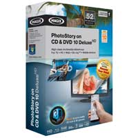 Magix Entertainment PhotoStory on CD & DVD 10 Deluxe (PC)
