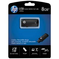 HP V255 8GB USB 2.0 Flash Drive - Bl