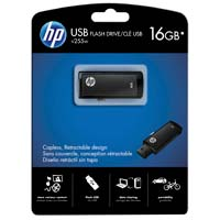 HP V255 16GB USB 2.0 Flash Drive - Black P-FD16GHP255-EF