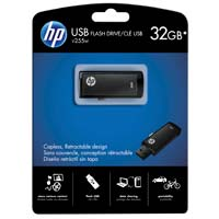 HP V255 32GB USB 2.0 Flash Drive - Black P-FD32GHP255-EF