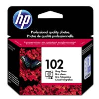 HP HP 102 Gray Photo Ink Cartridge (C9360AM)