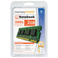 Centon memoryPOWER 2GB DDR2-667 (PC2-5300) CL5 SO-DIMM Laptop Memory Module