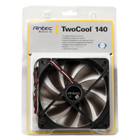 Antec TwoCool 140MM Dual Speed Case Fan