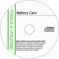 MCTS BatteryCare 0.9.8.5 - Shareware/Freeware CD (PC)