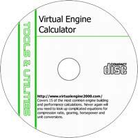 MCTS Virtual Engine Calculator 2.20 - Shareware/Freeware CD (PC)