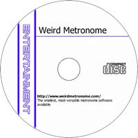 MCTS Weird Metronome 1.4 - Shareware/Freeware CD (PC)