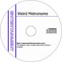 MCTS Weird Metronome 1.4 - Shareware/Freeware CD (PC)