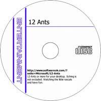 MCTS 12-Ants 1.44 - Shareware/Freeware CD (PC)