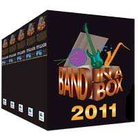 eMedia Band-in-a-Box Pro 2011 MegaPAK (Mac)