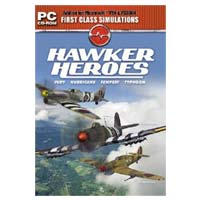 CH Products Hawker Heroes for Microsoft Flight Simulator 2004 and X (PC)