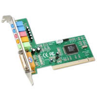Sabrent 6-Channel 5.1 Surround Sound 3D PCI Sound Card