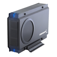 "Sabrent USB 3.0 Sata Hard Drive Enclosure 3.5"" with 80mm Cooling Fan"