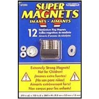 Super Magnet Rings 12 Pack