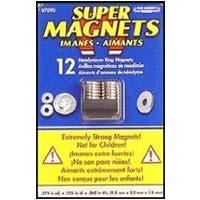 Super Magnet Rings 12 Pack