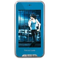 Visual Land V-Touch Pro 4GB Media Player Blue