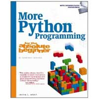 Cengage Learning MORE PYTHON PROGRAMMING