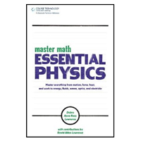 Cengage Learning MASTER MATH ESS PHYSICS