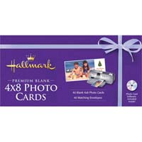 "Nova Development Hallmark Premium Blank 4"" x 8"" Photo Cards 40 Pack"