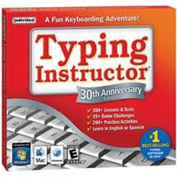 Individual Software Typing Instructor 30th Anniversary Edition Version 20 Training Software JC (PC / MAC)