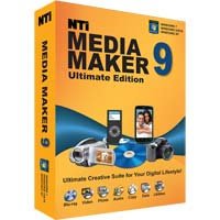 NewTech Infosystems NTI Media Maker 9 Ultimate Edition (PC)