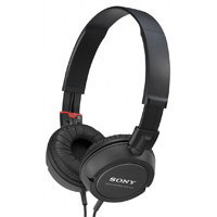 Sony MDR-ZX100/BLK DJ and Studio Headphones Black
