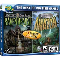 Encore Software Mystery Case Files: Ravenhearst and Hidden Expedition: Amazon (PC)
