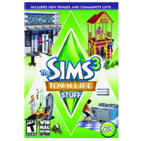 Electronic Arts The Sims 3: Town Life Stuff (Mac)