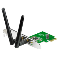 ASUS 300Mbps Wireless N PCIe Adapter