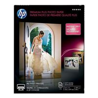 "HP 8.5"" x 11"" Premium Plus Soft Gloss Photo Paper 25 Sheets"