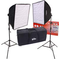 Dot Line RPS Studio Quick-Folding Softbox Kit with 5400°K Cool Fluorescent Light