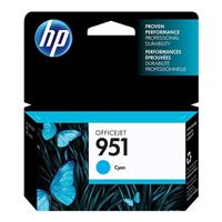 HP HP 951 Cyan Officejet Ink Cartridge