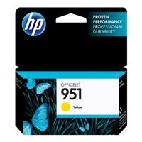 HP HP 951 Yellow Officejet Ink Cartridge