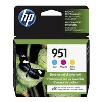 HP HP 951 Color Ink Cartridge Combo Pack