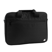 "Inland Notebook Briefcase Fits Most Netbooks and Laptops up to 14.1"" - Black"