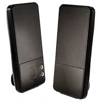 Inland 2 Channel Slim USB Powered Speaker System