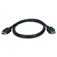 QVS High Speed HDMI w/ 3D Blu-ray 1080p Cable 1.64 ft.