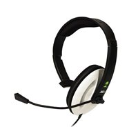 Turtle Beach XC1 Analog Xbox 360 Gaming Headset Refurbished - Black/White