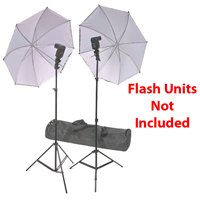 Dot Line Dual Speedlite Portable Studio Kit