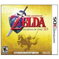 Nintendo The Legend of Zelda: Ocarina of Time (3DS)