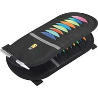 Case Logic CD Visor Organizer 20 Capacity Black