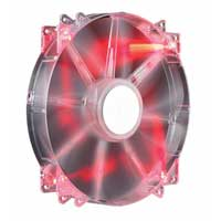Cooler Master MegaFlow 200mm Red LED Case Fan