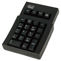 Adesso 22 Key Mechanical USB Numeric Keypad