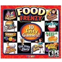 Encore Software Food Frenzy 10: Tasty Games (PC)