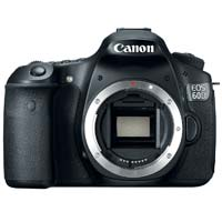 Canon EOS 60D 18 Megapixel Digital SLR Camera - Black