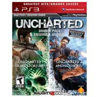 Sony Uncharted 1 and 2 Bundle (PS3)