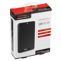 Toshiba Canvio Basics 3.0 1TB SuperSpeed USB 3.0 Portable External Hard Drive