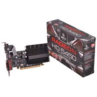 XFX AMD Radeon HD 5450 Low Profile 1024MB DDR3 PCIe 2.1 x16 Video Card